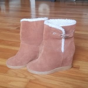 Fall Boots / Wedges leather 6.5 fornarina